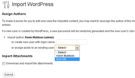 Wordpress backup: esportare ed importare un intero sito WordPress