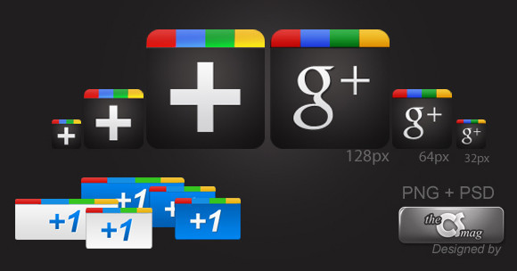 Google Plus Icon Pack