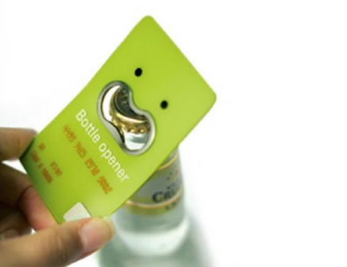 Bottle Opener Card
