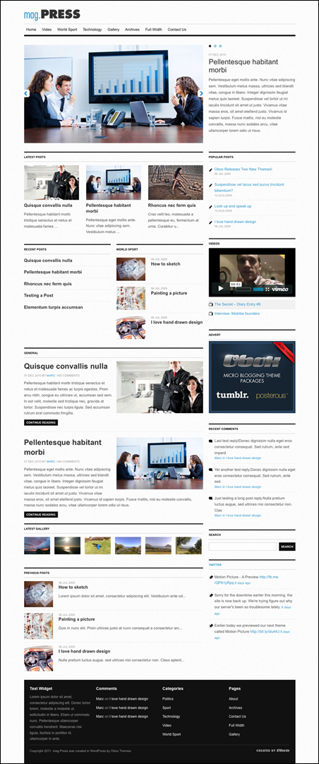 mag.Press - WordPress Magazine Theme
