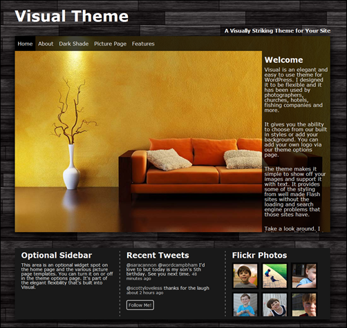 Visual Theme