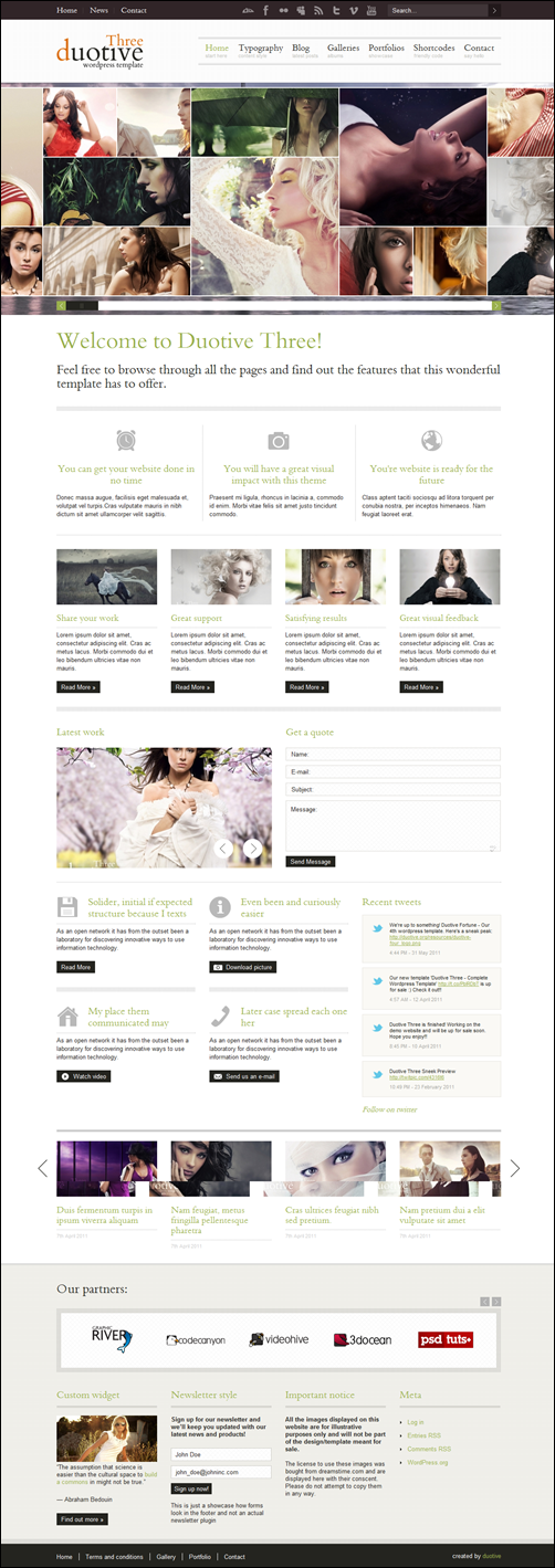 Duotive Three – Complete WordPress Magazine Theme
