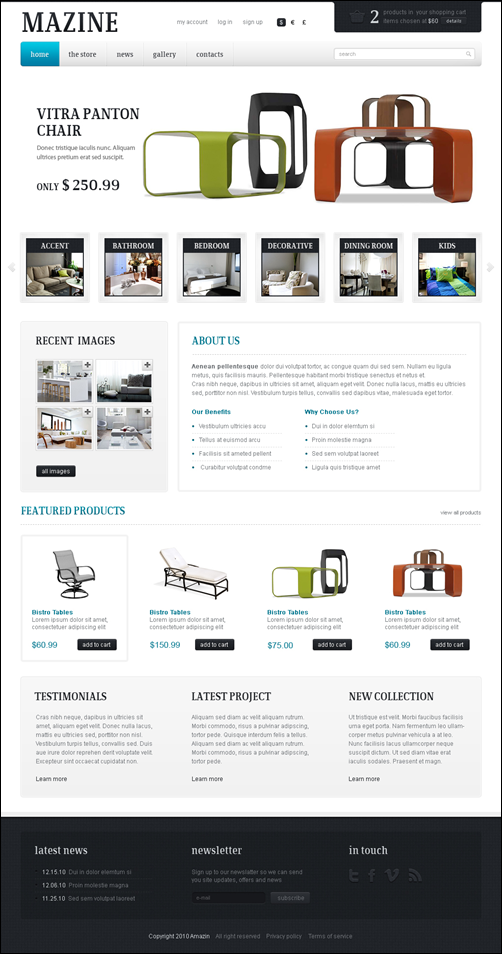 MAZINE - A WP E-Commerce theme
