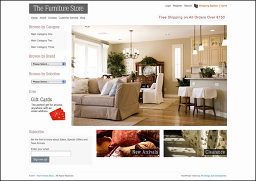 FURNITURE STORE,Wp ecommerce theme
