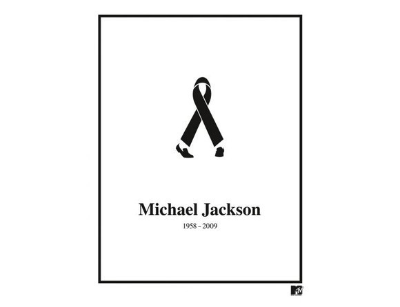 Black Ribbon Michael Jackson