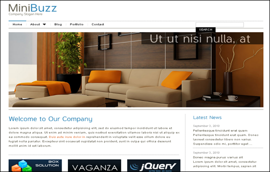 Best Business WordPress Themes for Company Websites-MiniBuzz