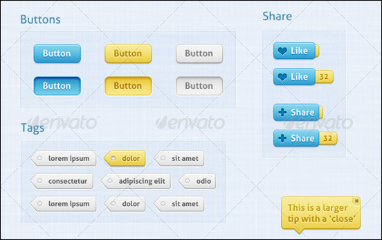 Soft Touch - Premium User Interface