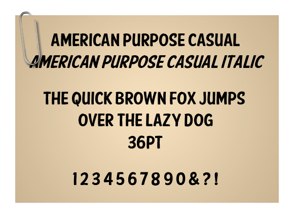 American Purpose Casual
