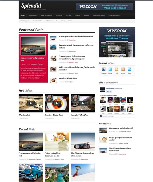 splendid-simple-wordpress-theme