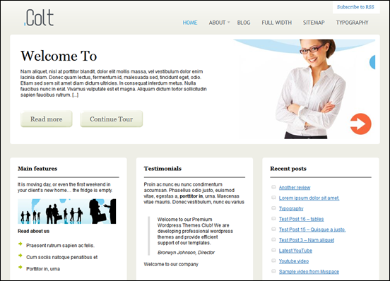 colt wordpress cms