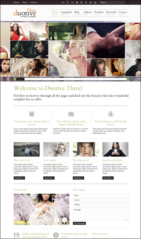 Duotive Three – Complete WordPress Magazine Template