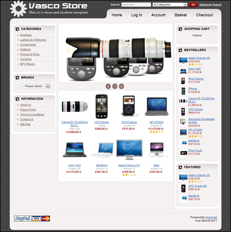 Vasco E-commerce
