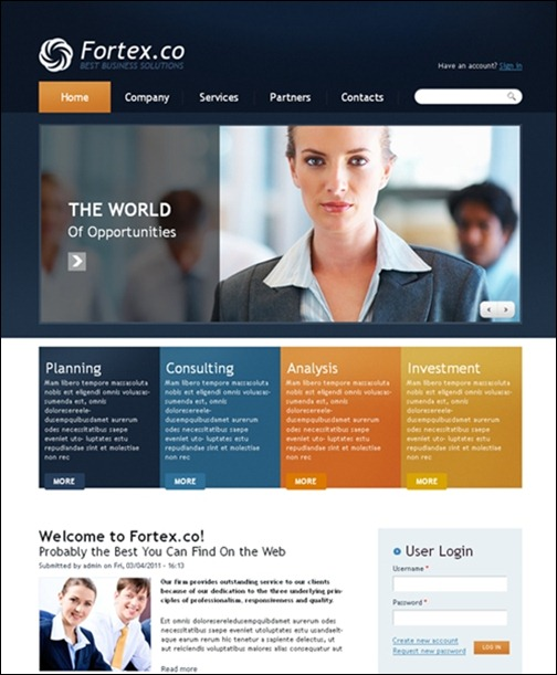FOTEX-CO DRUPAL 7 THEME