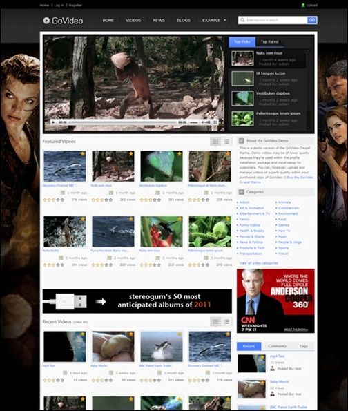 govideo-drupal-7-theme