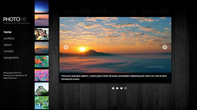 PhotoMe WordPress Photography Themes