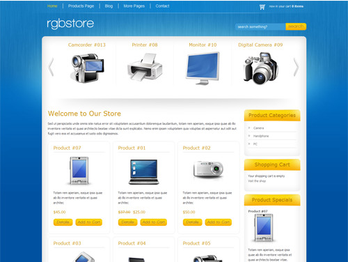 rgbstore top wordpress themes