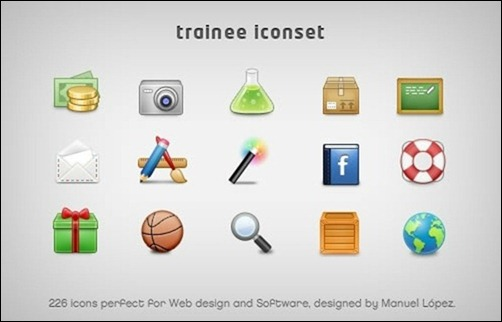 trainee-icon-set