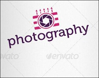 Events Photographer Logo Template