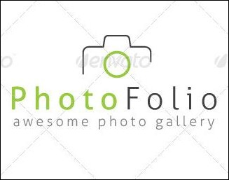 Photo Folio Logo Template