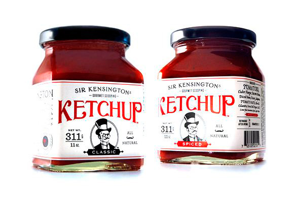 Sir Kensington's Scooping Ketchup