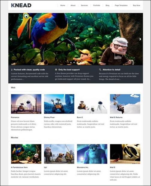 knead-wordpress-responsive-theme