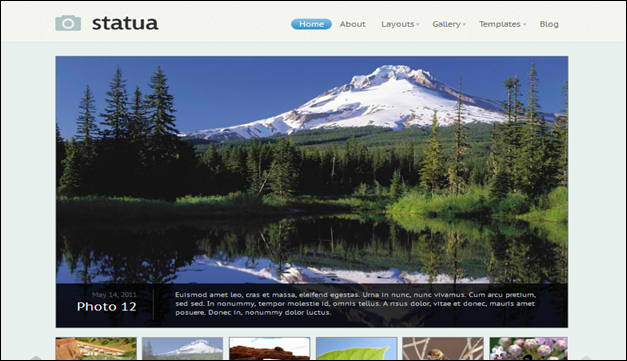 Statua - one of the beautiful travel WordPress Themes
