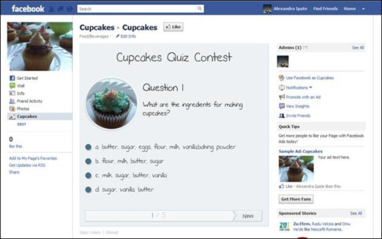 facebook-quiz-application