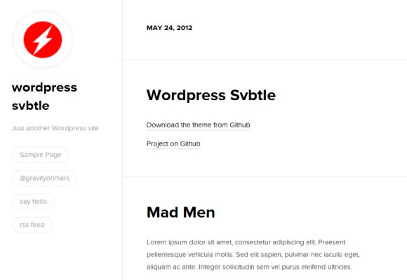WordPress Svbtle