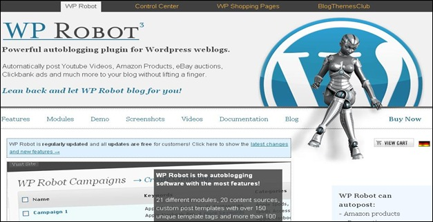WP robot Best WordPress Plugins