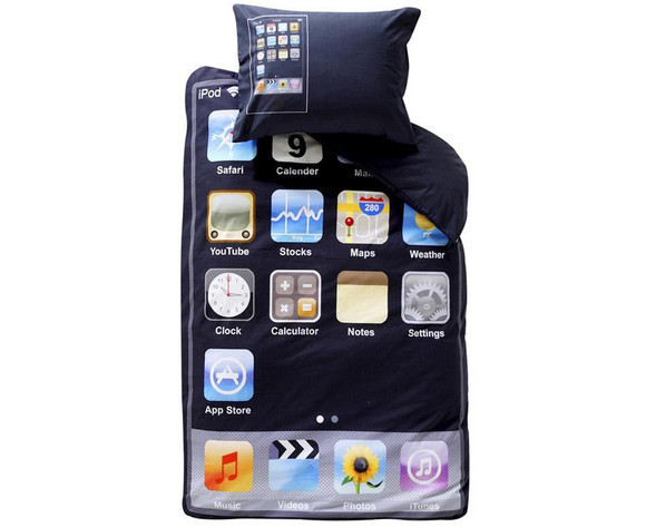 iPod Touch Themed Bedding