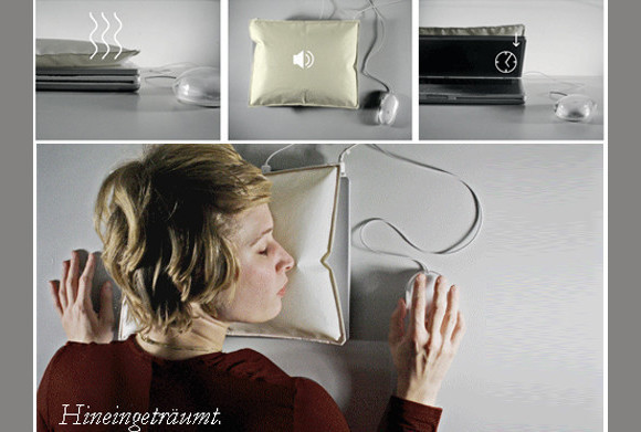 iSleep Laptop Pillow