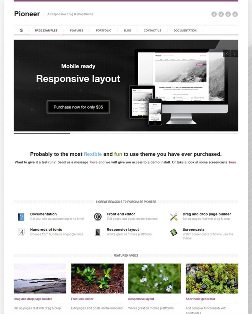 pioneer-responsive-drag-drop-theme