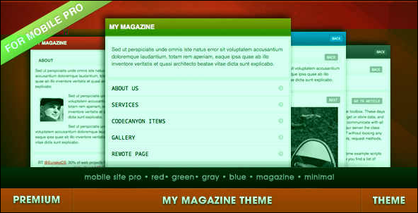 My Magazine for Mobile
