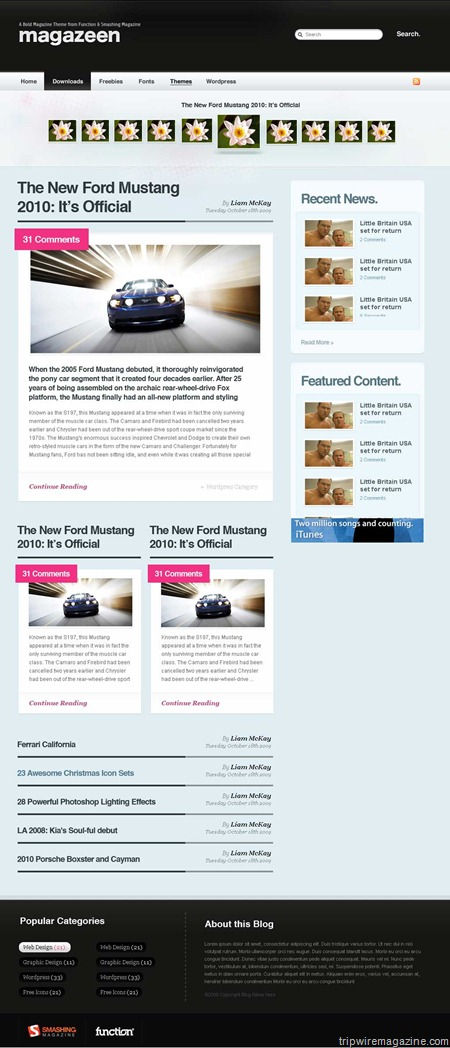 Free Magazine-Look WordPress Magazine Theme