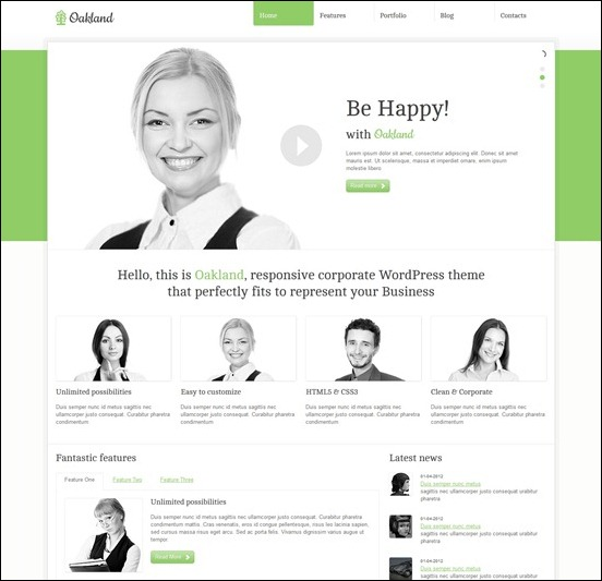 oakland-responsivehtml-template