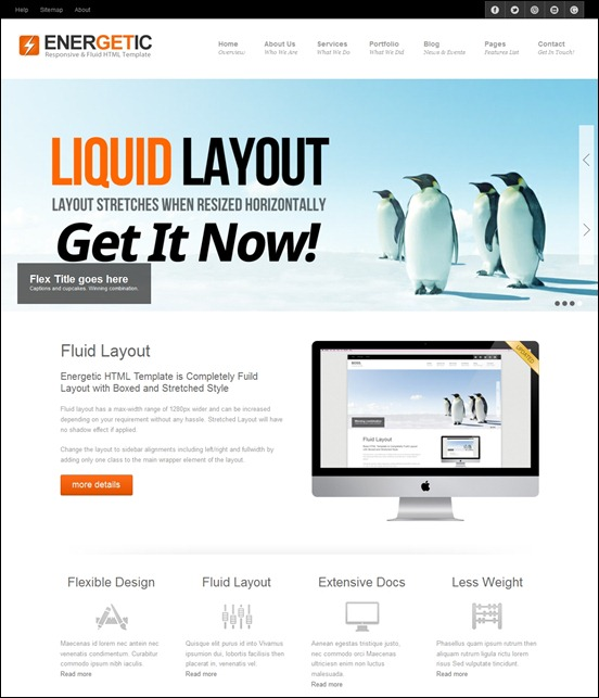 html5-responsive-template