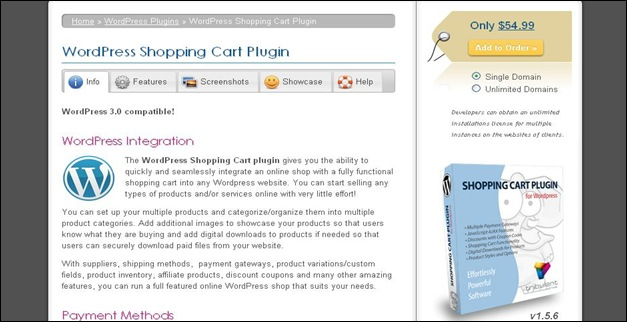 Best WordPress Plugins Shopping Cart Plugin