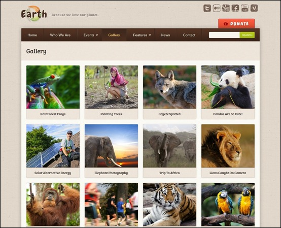 earth-eco-environmantal-nonprofit-theme
