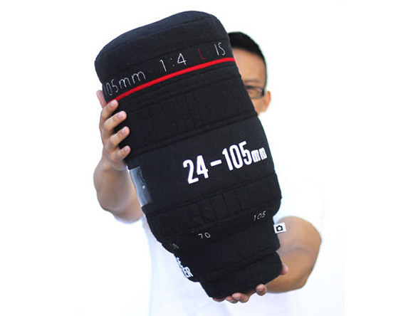 Plushtography Lens Pillows for Photography Enthusiasts