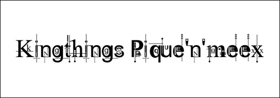 king-things-font