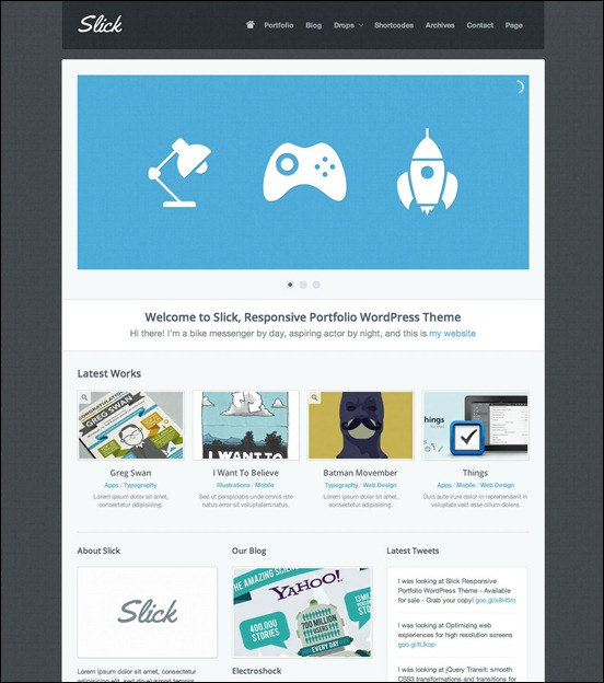 slick-responsive-wordpress-theme