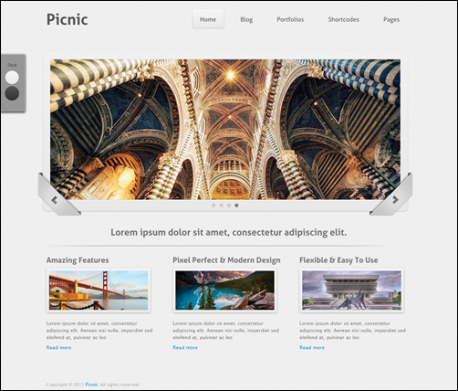 Picnic - Portfolio & Business WordPress Theme