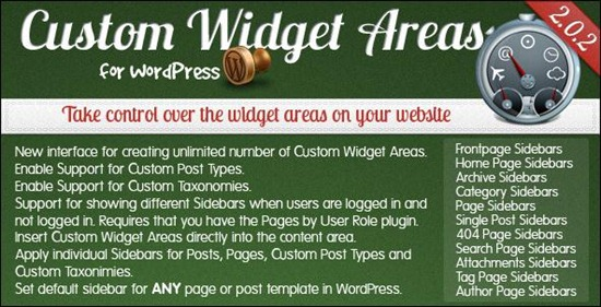 custom-wordpress-widget-areas