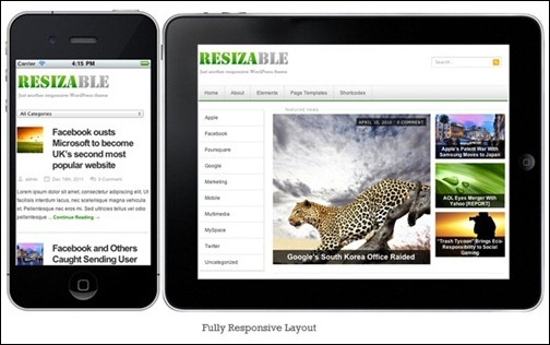 resizable-responsive-theme