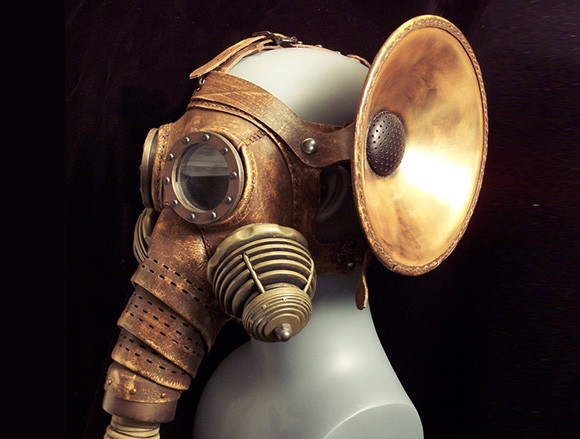Steampunk Elephantine Gas Mask