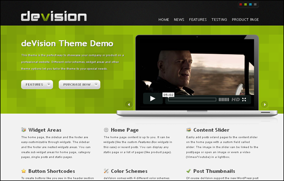 Best Business WordPress Themes for Company Websites-DeVision