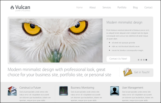 Best Business WordPress Themes for Company Websites-Vulcan