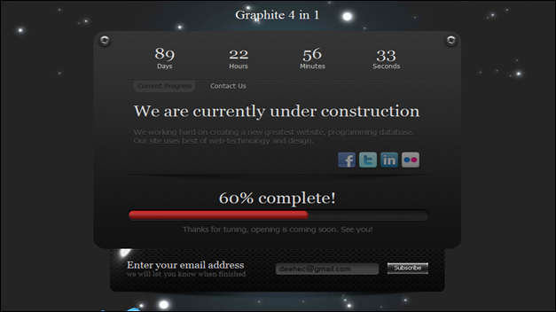 Graphite 4 in 1 - Under Construction Page