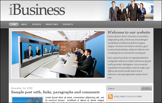 Best Business WordPress Themes for Company Websites-iBusiness