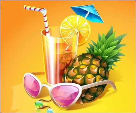 free-summer-cocktail-vectors